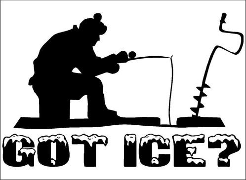 Ice Fisher Silloette Www Picswe Com