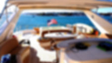 Yacht off Newport Beach