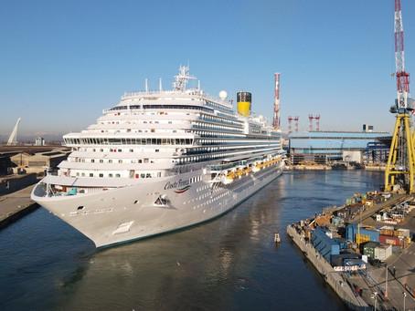 【圖片/影片】歌詩達新船 Costa Firenze