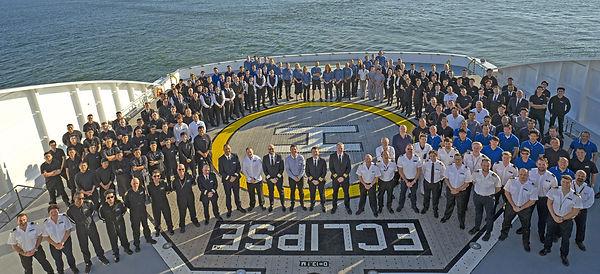 Scenic Eclipse Group Crew 2020, Heli Dec