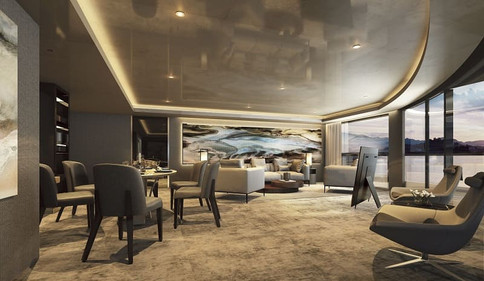 Scenic Eclipse Owner's Penthouse Lounge.