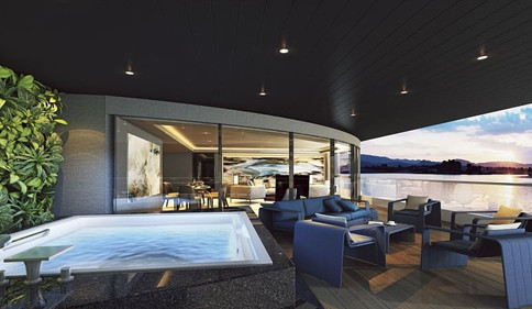 Scenic Eclipse Owner's Penthouse Terrace