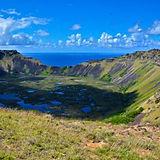 復活島上最大的火山口.jpg