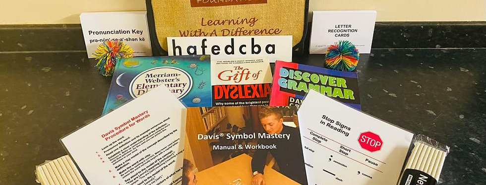 Davis Orientation and Symbol Mastery Home Kit: for older children and adults