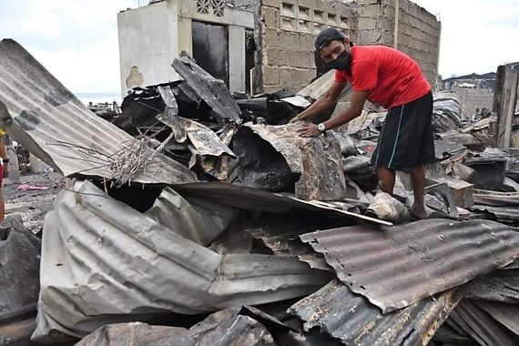 Davao fire victims get needed assistance