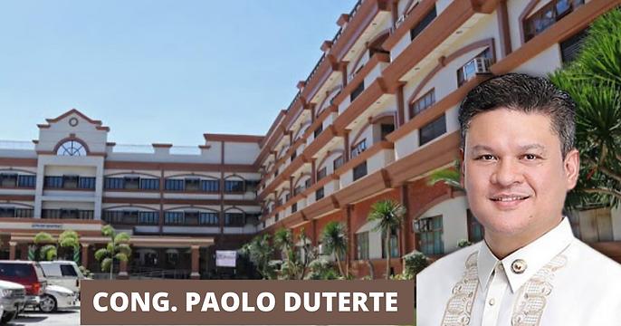 Cong. Paolo Duterte, Naglaan Ng 10M Pesos sa Aklan Provincial Hospital