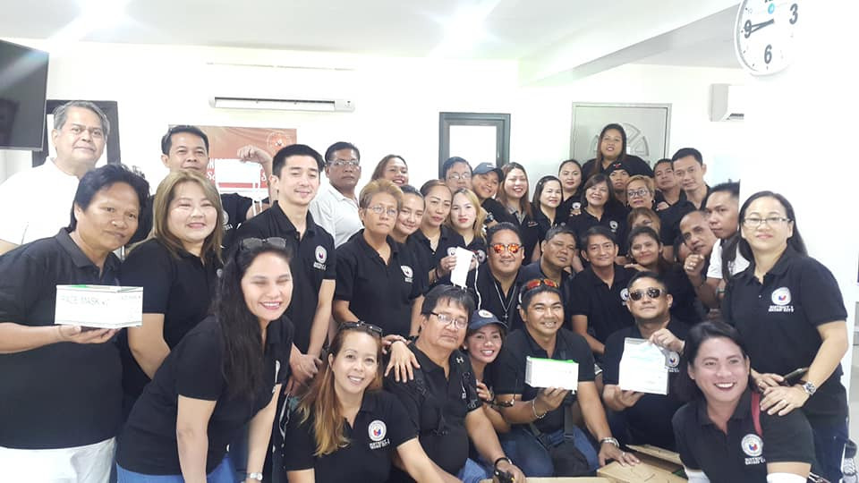 Davao City First Congressional District Staff (Feb 2020).