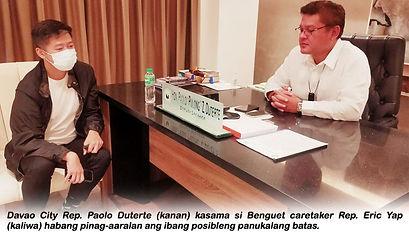 Rep. Pulong Duterte Nais Dagdagan Ang Umento Ng CES