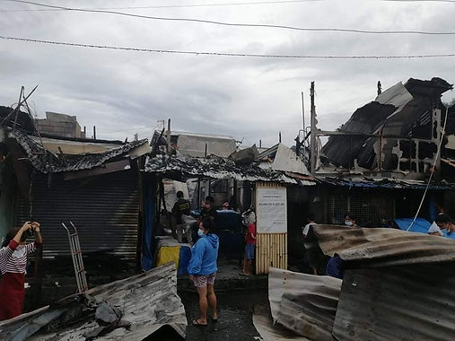First Congressional District Office distributes relief assistance to Bankerohan fire victims