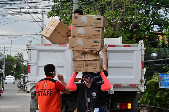 Paolo Duterte's office distributes 300k face masks to COVID-19 high risk barangays