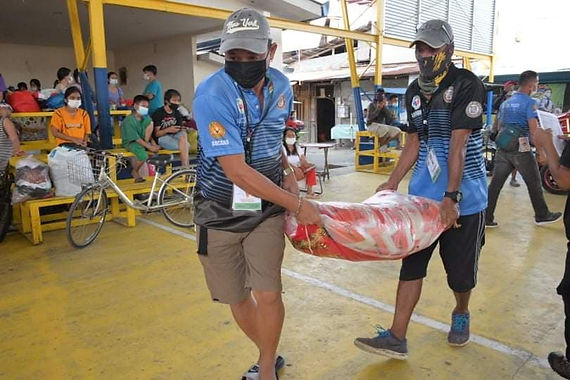 Davao First District Office extends aid to fire victims