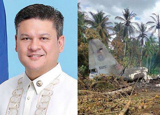 Rep. Pulong Duterte At Rep. Eric Yap, Tutulong Sa Sulu Plane Crash Victims