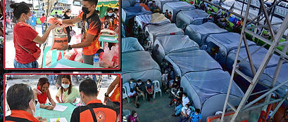 Pulong gives relief aid to Davao fire victims (News Fort)