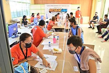 Catalunan Grande launches barangay vaccination hub