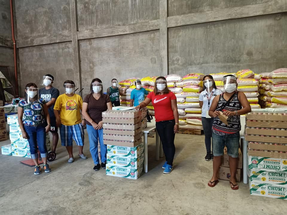 Office warehouse team.