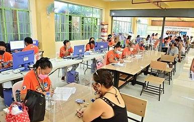 Davao City village kicks off vaccination drive