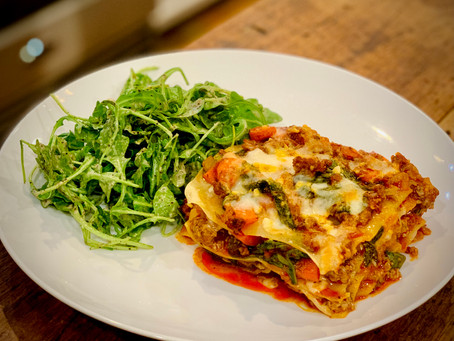 Spicy Lamb Lasagna
