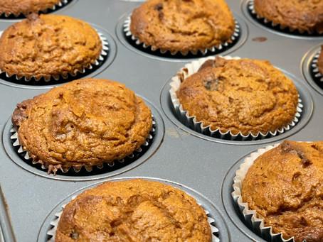 Pumpkin Muffins from MamaONeill.com