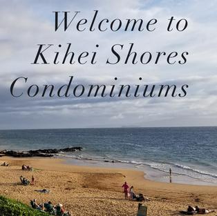 KIHEI SHORES WEBSITE