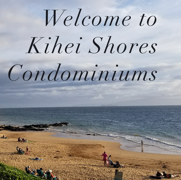 KIHEI SHORES WEBSITE