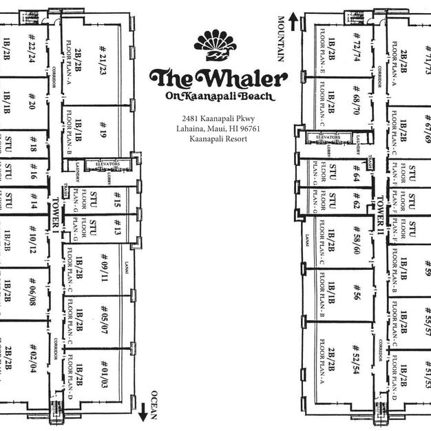 Whaler Site Map