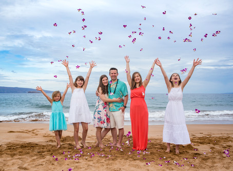 Maui Family Photography Fun!