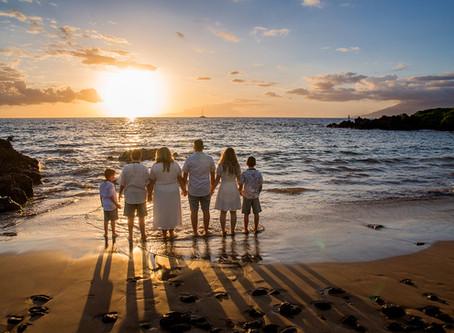 Maui Family Photography Magic at Makena Surf Resort!