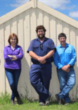 Michele, Craig and Graeme Hamilton