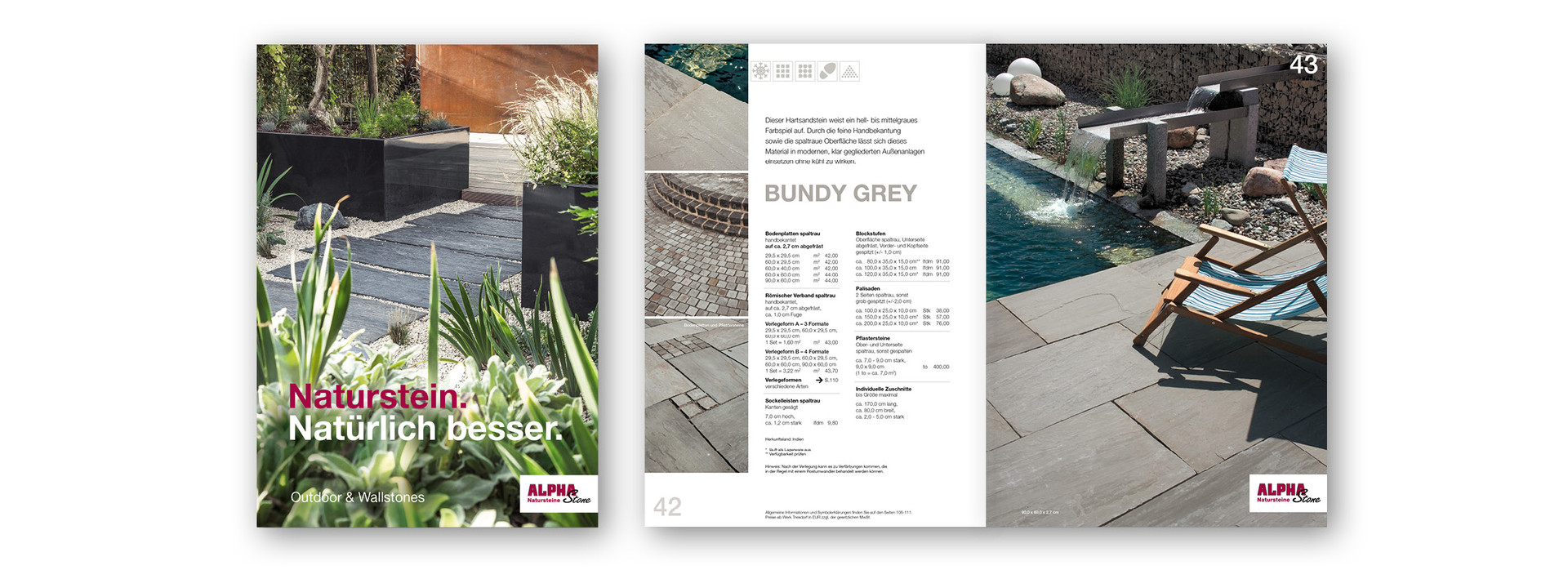 ALPHASTONE OUTDOOR KATALOG