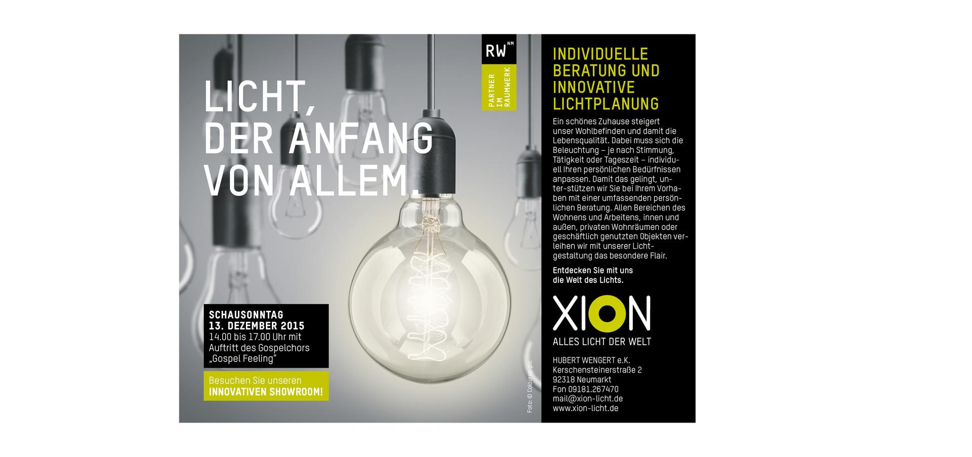 XION Leuchtenstudio