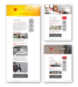 Website für Thermostone einem Hersteller von Natursteinheizungen