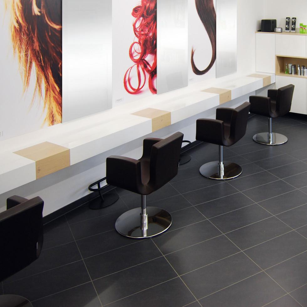 Friseursalon Ladeneinrichtung