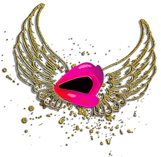 SHOUT WEBSITE WINGS AND SPLAT BACKGROUND