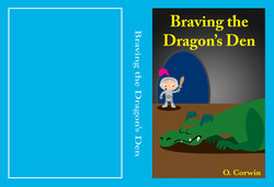Braving The Dragon's Den - Book Cover (Out of the Box - Upstart 2016_ Festival of Innovative Theatre