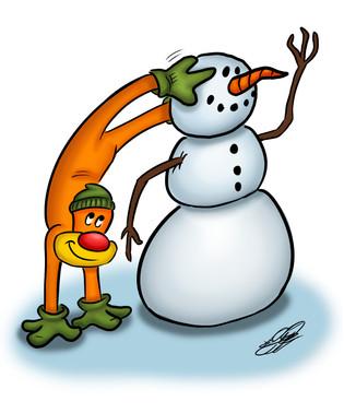 Building A Snowman (Dec. 1st, 2020)