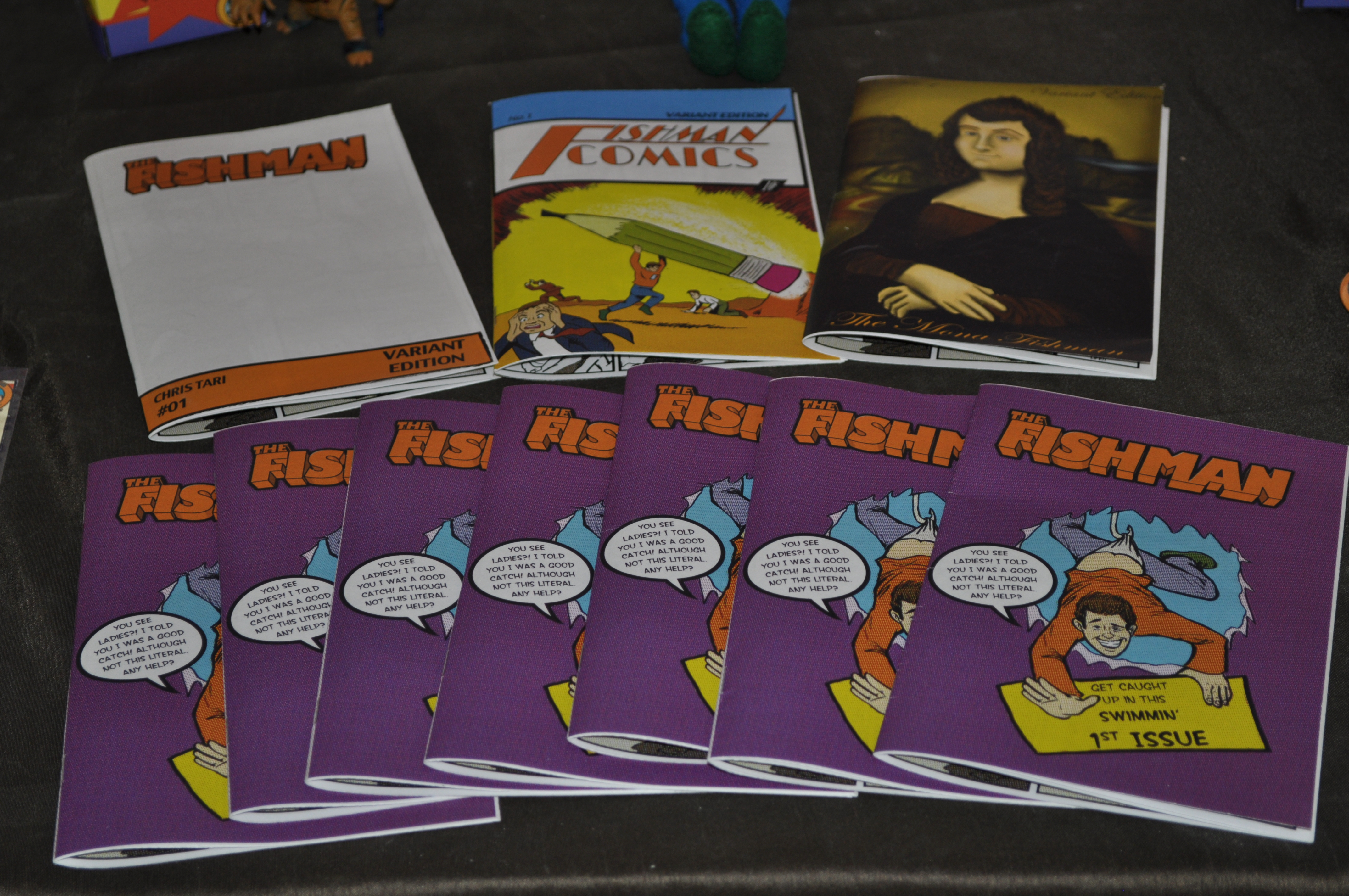 Fishman Comic and Variants #1