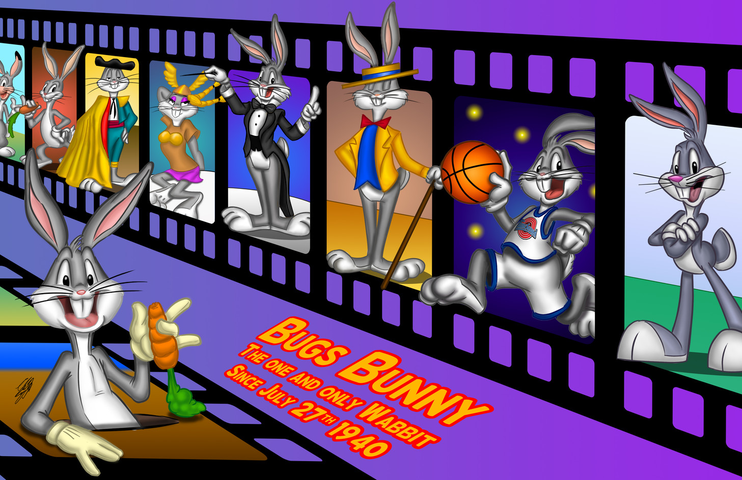 Bugs Bunny 80th (July 2020)