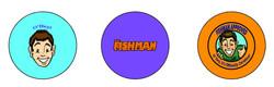 Fishman Buttons Designs