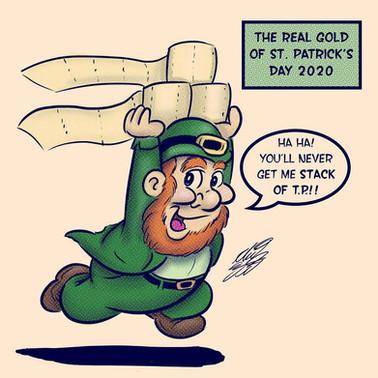 St Patty's Day 2020 Comic