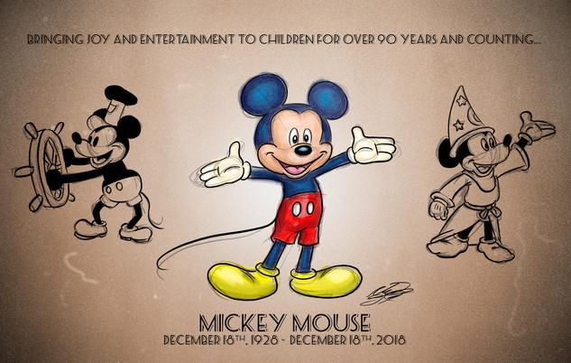 Mickey's 90th (November 2018)