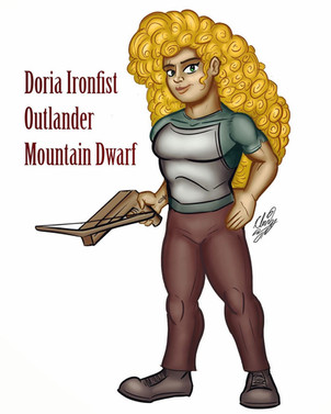 Doria Ironfist (2020)