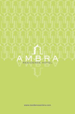 logotipo hotel ambra