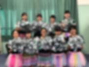 ファイティングガールズバトンチーム.JPG