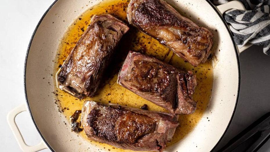 Short ribs de bœuf