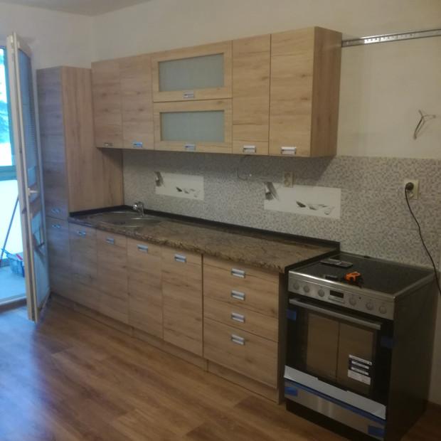 Rekonštrukcia 1-izbový byt