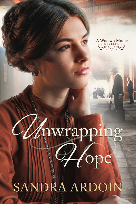 Sandra Ardoin - A Widow's Might Series - Unwrapping Hope