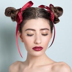 diva lipstick glitter lashes