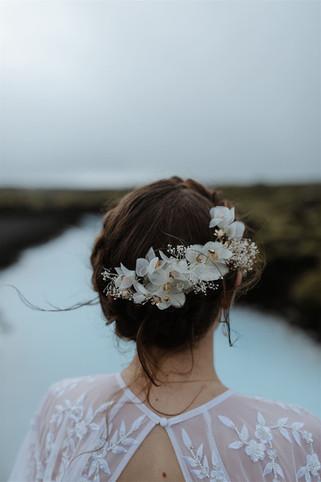 Bridal hair stylist Iceland