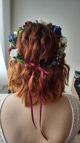 bridal hairstylist iceland