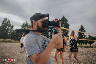 providing videography service in public area